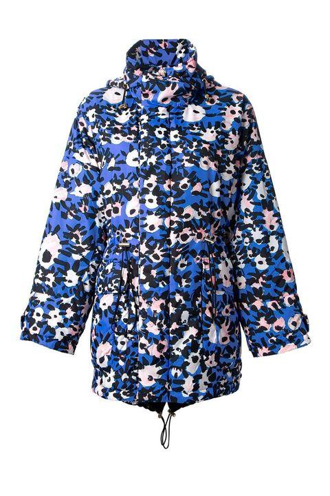 Blue, Sleeve, Textile, Pattern, Electric blue, Cobalt blue, Aqua, Visual arts, Pattern, Fashion design,