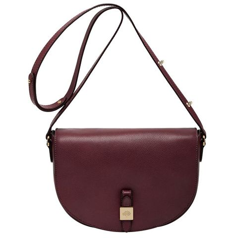 fec2d554c4 Tessie large soft grain satchel in oxblood