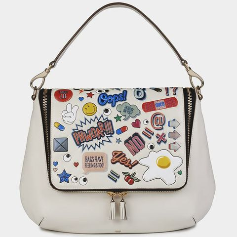 Product, Bag, White, Pattern, Style, Fashion accessory, Shoulder bag, Fashion, Beauty, Luggage and bags,