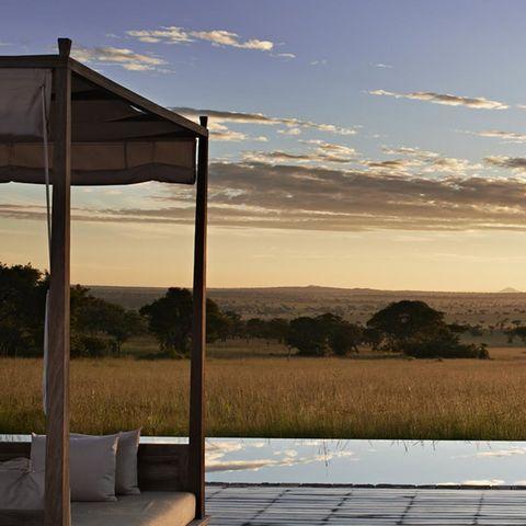 Justin Timberlake and Jessica Biel: Singita Serengeti House, Tanzania