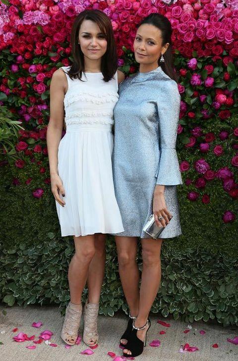 Samantha Barks and Thandie Newton