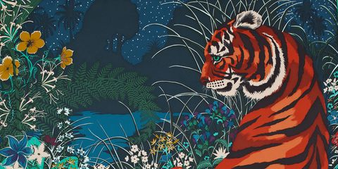 Organism, Orange, Art, Colorfulness, Pattern, Terrestrial animal, Modern art, Illustration, Visual arts, Painting,