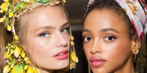Dolce & Gabbana SS16 backstage beauty