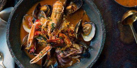 Food, Ingredient, Tableware, Seafood, Recipe, Dish, Cuisine, Kitchen utensil, Serveware, Meal,