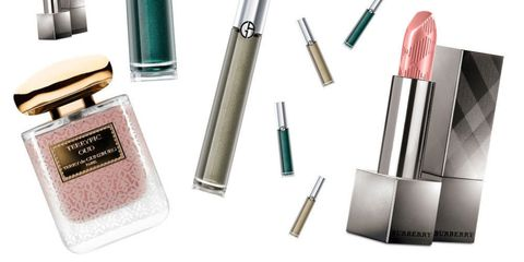 Brown, Beauty, Cosmetics, Lipstick, Tints and shades, Stationery, Turquoise, Teal, Beige, Material property,