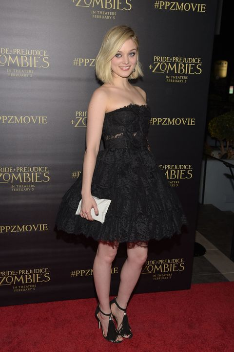 Pride and Prejudice and Zombies Premiere - Best Dressed - Lily James, Matt Smith