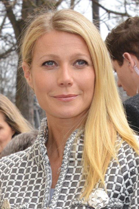 Gwyneth Paltrow at Chanel's spring 2016 couture show