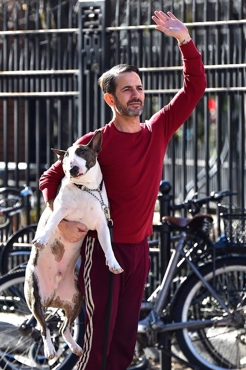 marc jacobs and his dog neville
