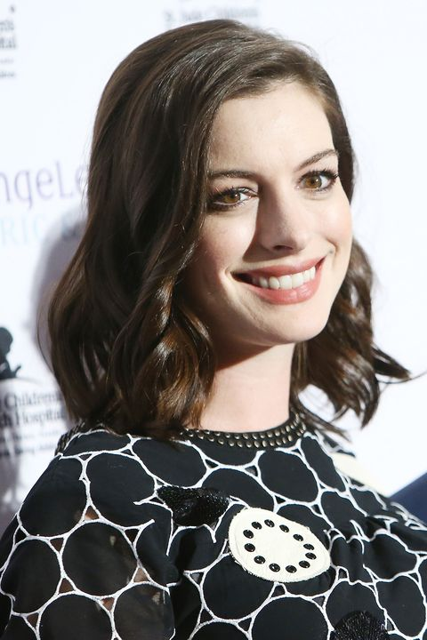 Anne Hathaway at the LA Art Show