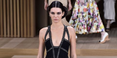 Kendall Jenner for Chanel Couture