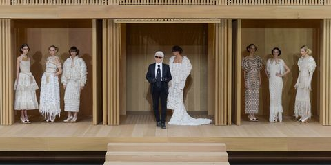 Chanel couture finale
