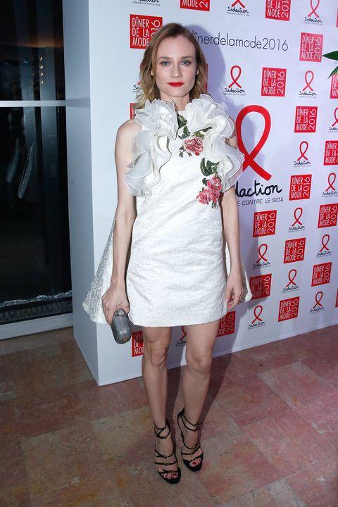 Best dressed celebrities, Diane Kruger Sidaction dinner, Jaime King, Kendall Jenner Mango