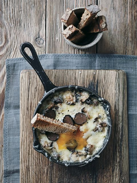 Duck and Waffle eggs recipes