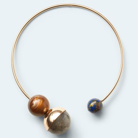 Ball rigid choker, Mango