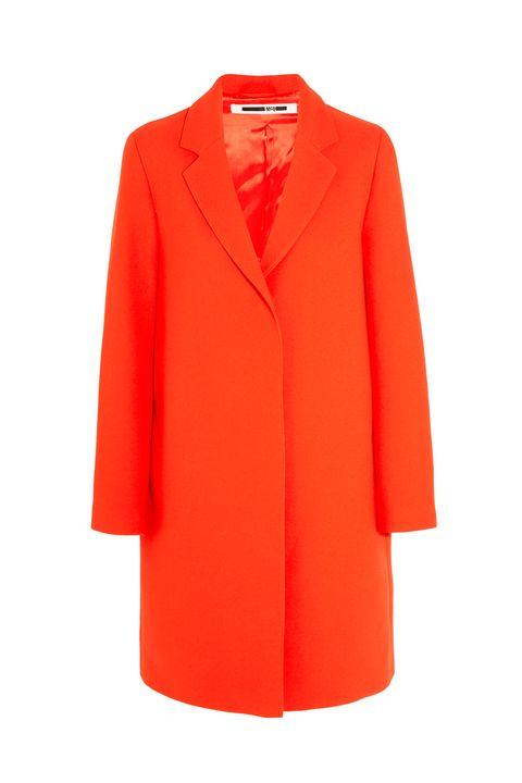 mcq mcqueen red coat