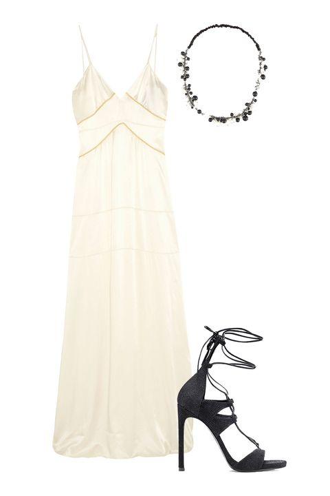 High heels, Sandal, Basic pump, One-piece garment, Fashion design, Foot, Dancing shoe, Day dress, Wedding dress, Ankle,