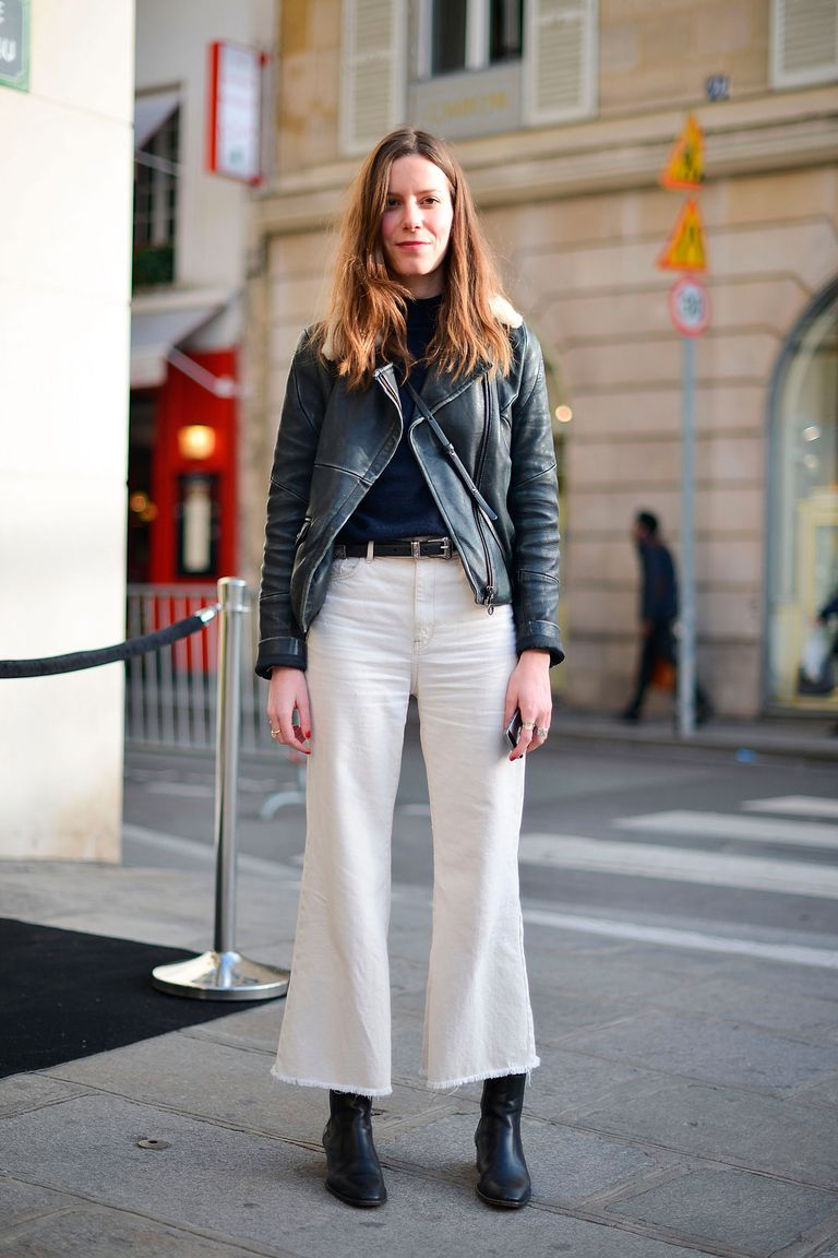 How to high wear waisted leather pants new photo