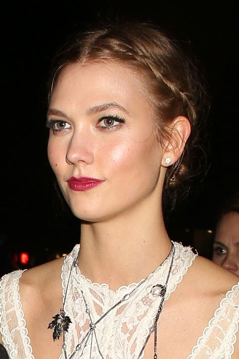 Karlie Kloss at the Brit Awards 2016