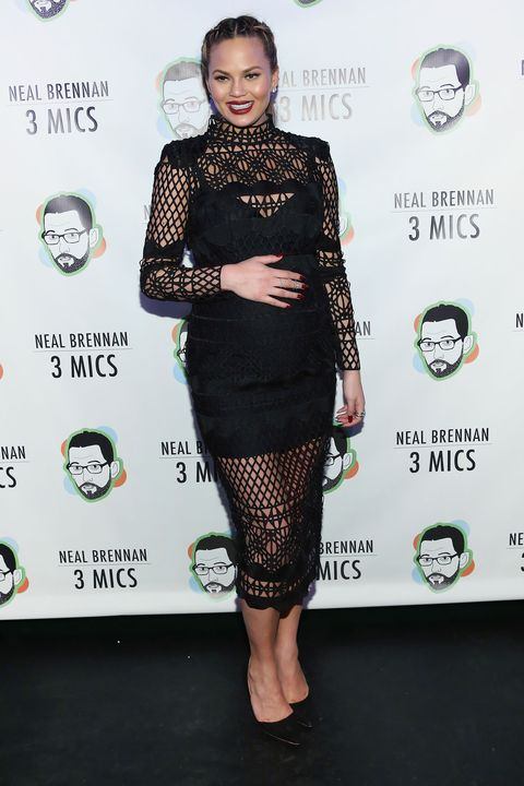 Jessica Alba, Chrissy Teigen maternity style, best dressed celebrities