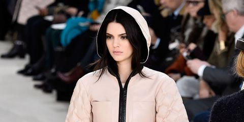 Kendall Jenner on the Chanel catwalk