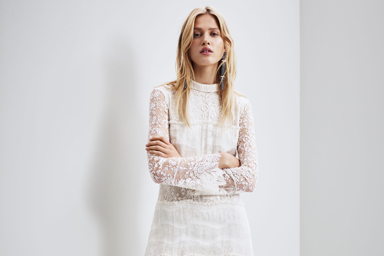 Hm Wedding Dress.H M Launch A Wedding Dress Collection