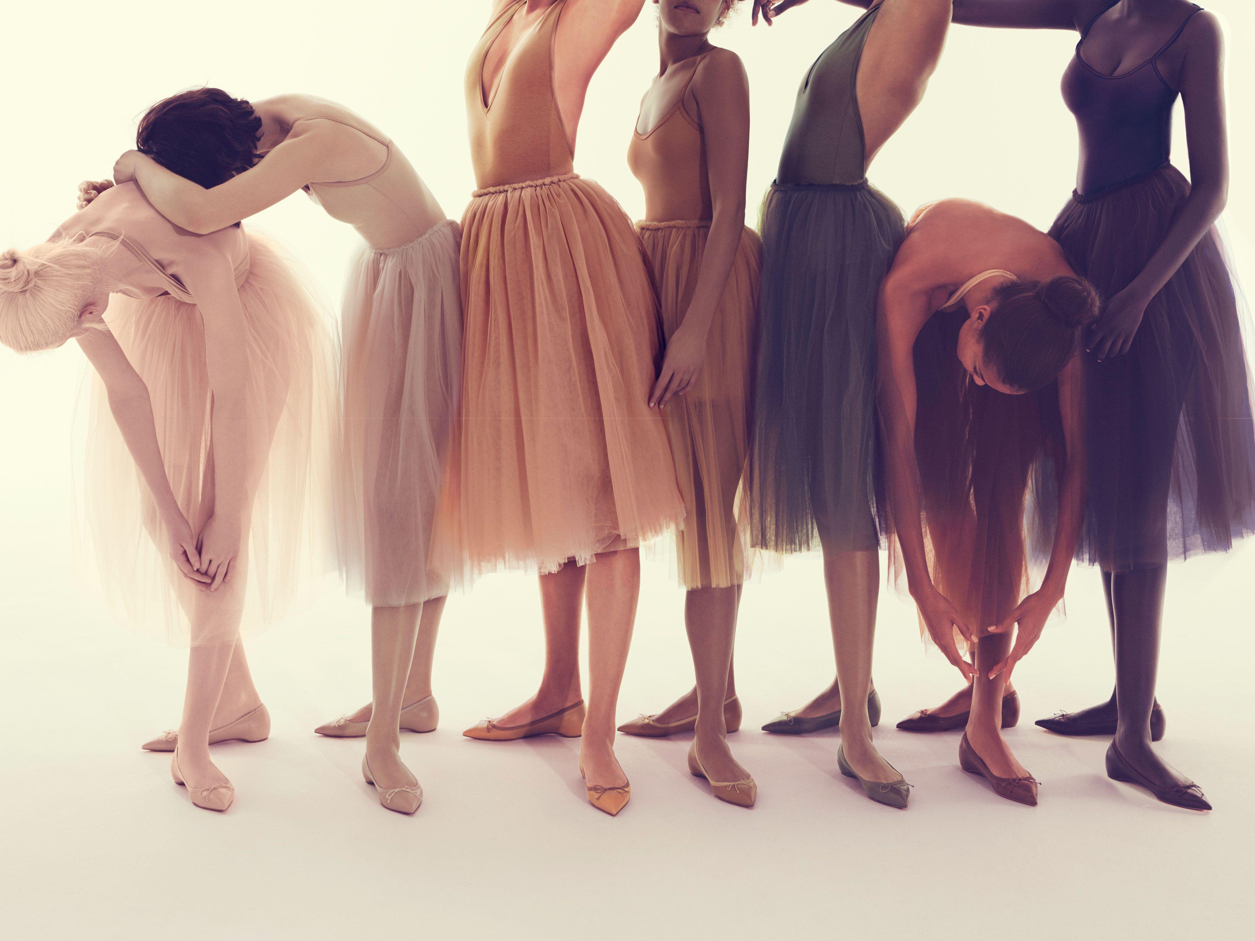 Christian Louboutin Ballerinas high España