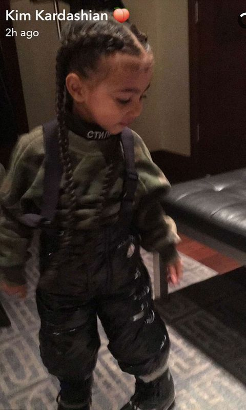 North West hair extensions