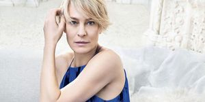 Robin Wright April Bazaar
