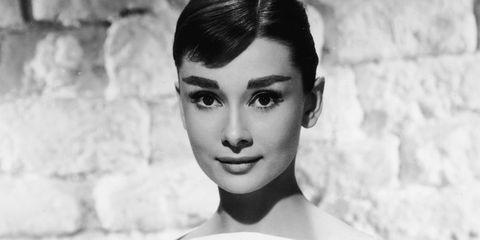Ultimate celebrity brow icons | Audrey Hepburn