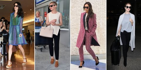 Celebrity airport style inspiration