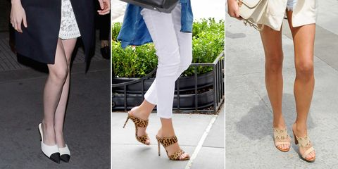 Best mules to buy now   Celebrities wearing mules