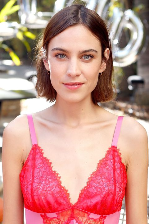 Alexa Chung at the Villoid Garden Tea Party
