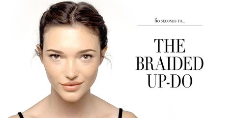 Beauty how-to video: The braided up-do