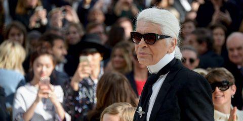 Karl Lagerfeld leaves Chanel