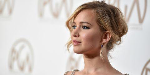 Jennifer Lawrence Hair-story