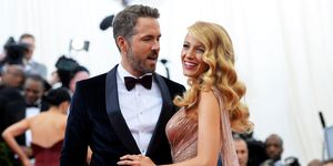 Blake Lively and Ryan Reynolds at the Met Ball