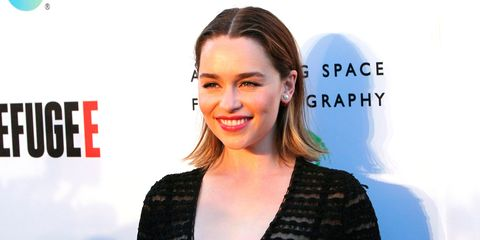 Emilia Clarke Annenberg Space Refugee event