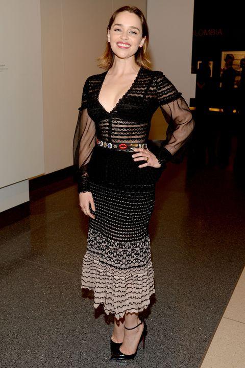 best dressed, red carpet style, celebrity style, Alexa Chung, Emilia Clarke
