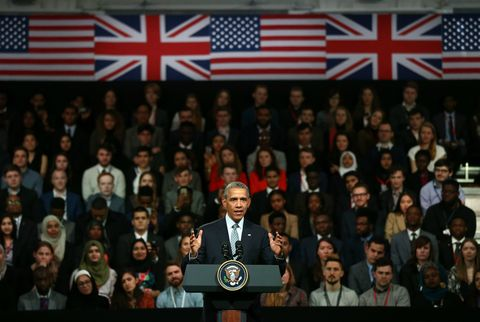 President Barack Obama Town Hall in London