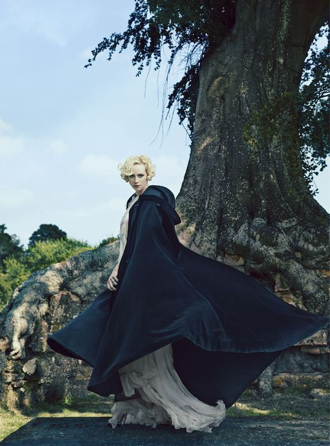 Gwendoline Christie from Game of Thrones photographed for Harper's Bazaar