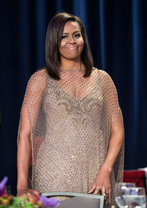 Michelle Obama at the final White House Correspondents' Dinner