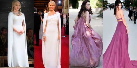 Game of Thrones costumes on the red carpet
