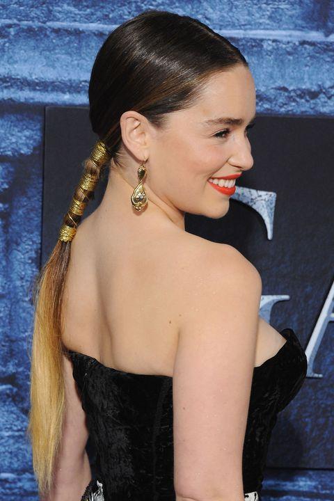 Emilia Clarke's hairstyles