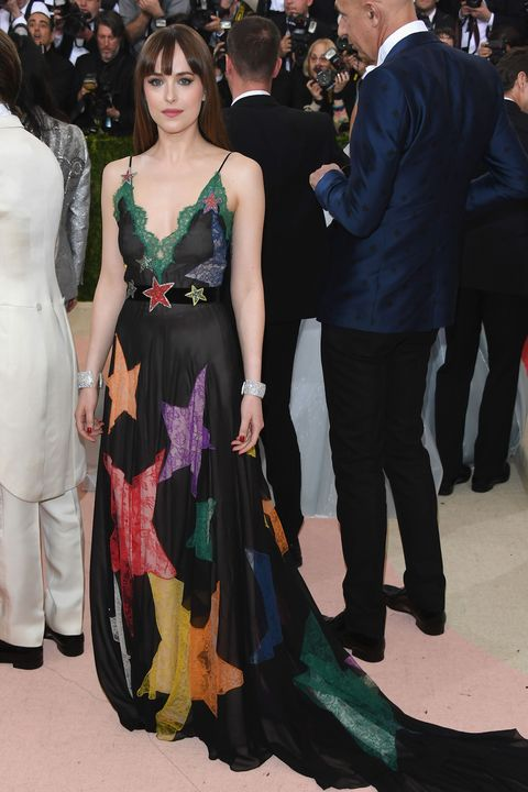 Dakota Johnson in Gucci at the Met Gala