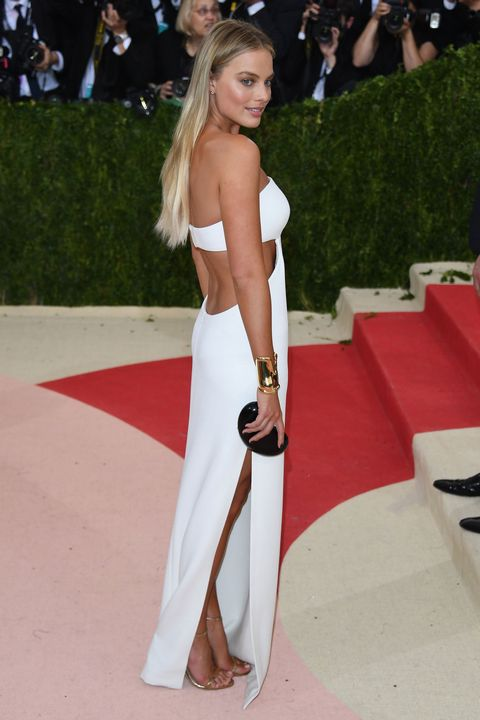 Margot Robbie in Calvin Klein Collection at the Met Gala