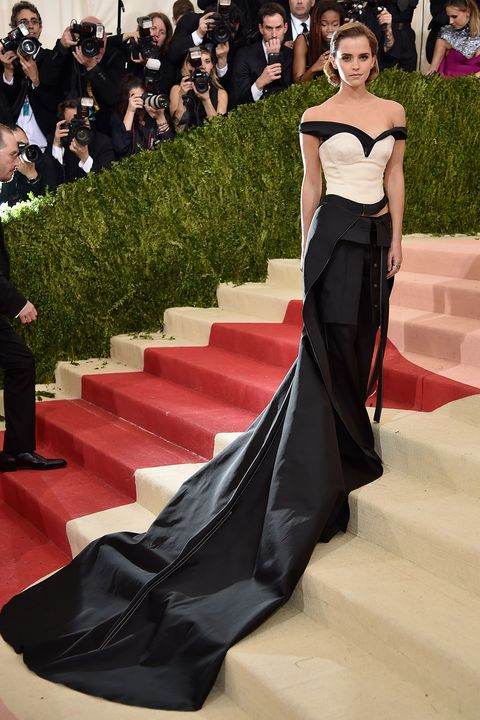 Emma Watson\'s Met Gala dress was made from plastic bottles for the ...