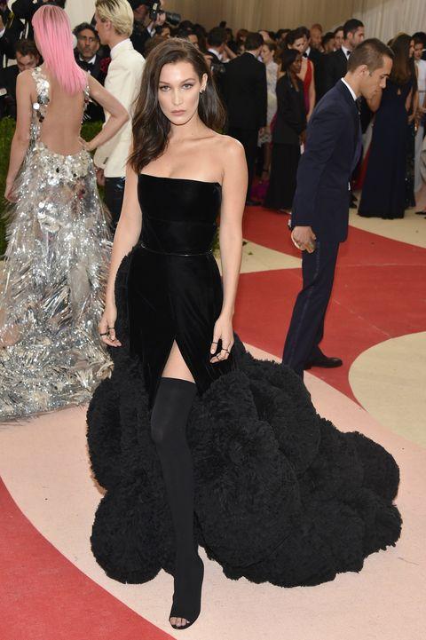 Bella Hadid in Givenchy at the Met Gala