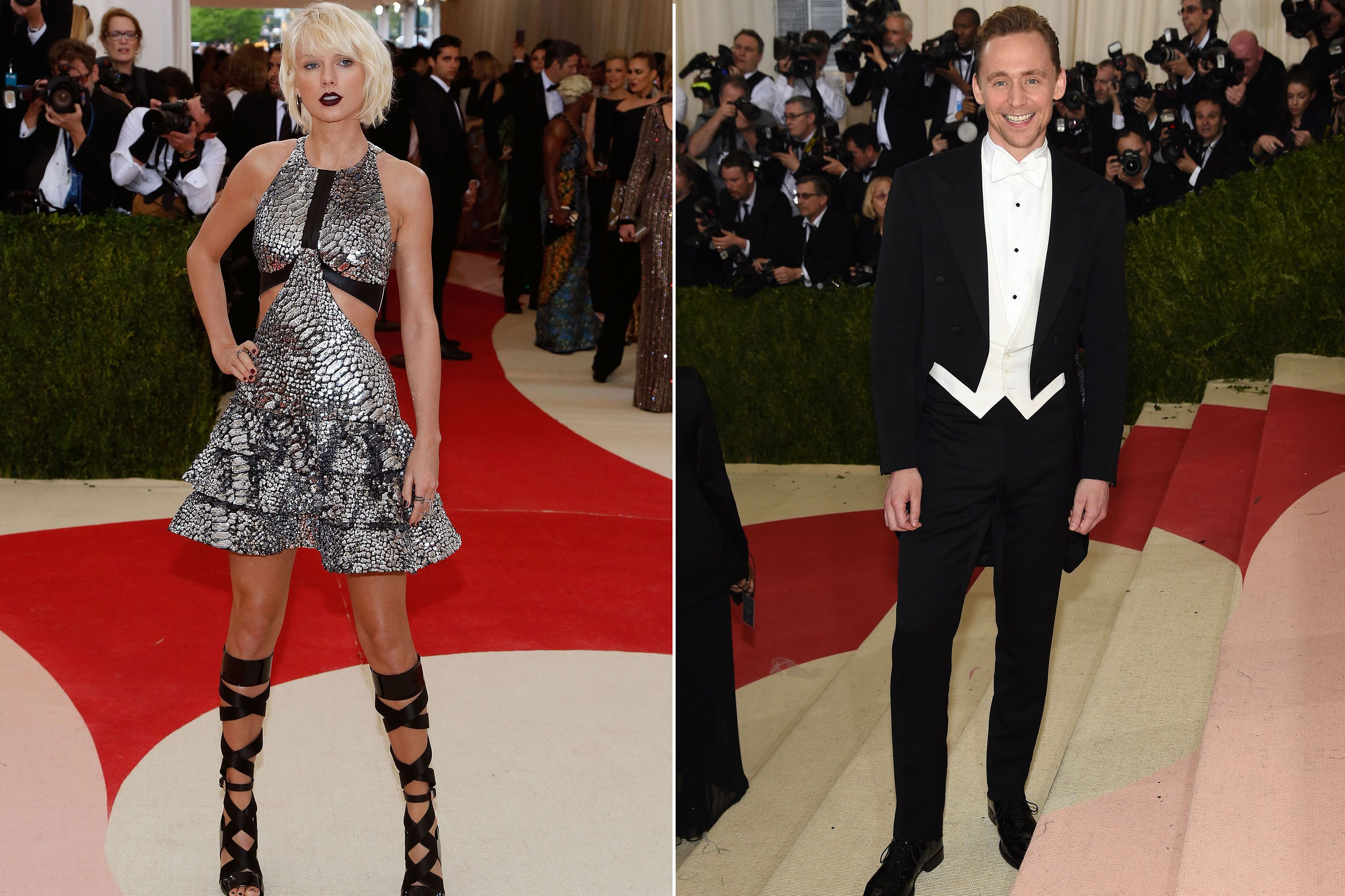 Taylor Swift And Tom Hiddleston Had A Dance Off At The Met Gala