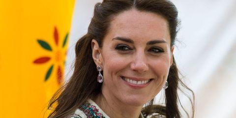 The Duchess of Cambridge wearing Kiki McDonough earrings