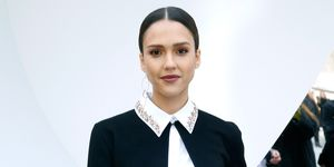 Jessica Alba at the Dior show
